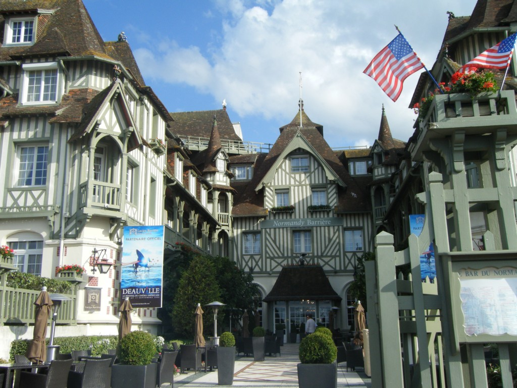 Normandy in the mood for deauville for Hotels deauville